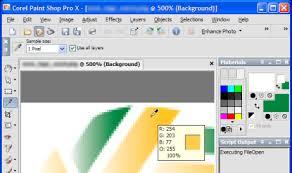 paintshop pro find a color value cybertext newsletter