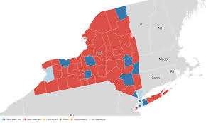 New York Political Map by New York Election Results 2016 Live Maps Polling Analysis