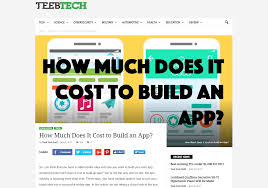 Cost To Build How Much Does It Cost To Build An App David Morelo