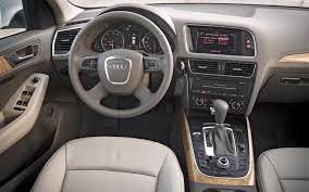 Audi Q5 Interior Colors - 2009 audi q5 information and photos zombiedrive