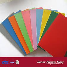 clearance portable vinyl anti slip pvc badminton flooring rolls
