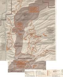 Hood River Oregon Map by Mhsc Trail Maps