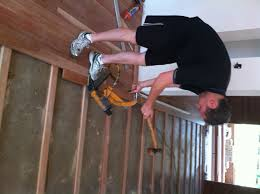 flooring nailing hardwood floors to wall particle board osb