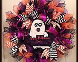 happy halloween deco mesh wreath halloween deco mesh wreath