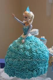coolest elsa doll cake disney movie frozen birthday
