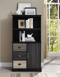 Bookcase With Filing Cabinet Red Barrel Studio Snowy Mountain 57