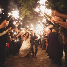 sparklers for wedding would to a sparkler send at least one hr fireman