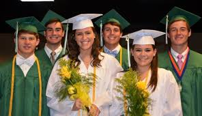 white cap and gown news post
