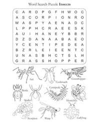 print free insect crossword puzzle kids