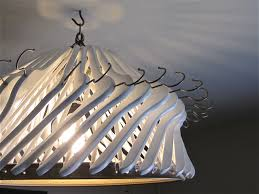 Making Chandeliers Make Your Own Chandelier Out Of Clothes Hangers The Project Lady