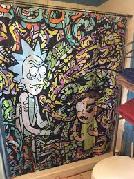 Nerdy Shower Curtain My Shower Curtain Rick And Morty Amino