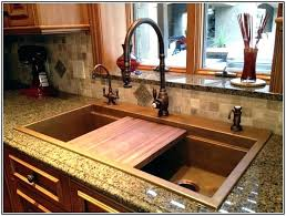 bronze faucets for kitchen 23 pictures of stainless steel sink with rubbed bronze faucet