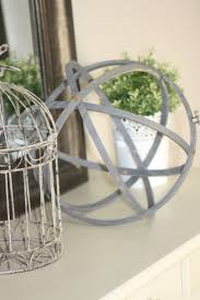 decorative accents for home diy decorative orb repurposed embroidery and baptism decorations
