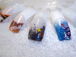 nfl football nails designs cleveland browns steelers buffalo bills