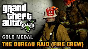gta v bureau missions gta 5 mission 67 the bureau raid crew 100 gold medal