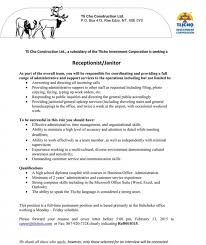 Janitorial Resume Sample by Skills Of A Janitor Resume Templates