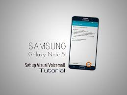 verizon visual voicemail android samsung galaxy note 5 set up visual voicemail tutorial