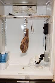 Meat Curing Cabinet Cured Meats Violino Di Capra Goat Prosciutto
