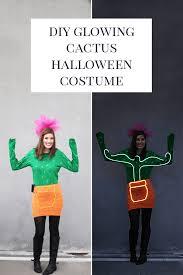 Halloween Neon Costume Diy Cactus Halloween Costume Neon Lights
