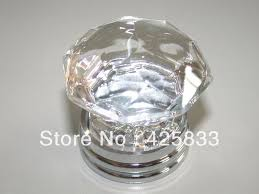 Door Knobs And Handles For Kitchen Cabinets Free K9 Crystal U0026silvery Copper Glass Dresser Knob Furniture