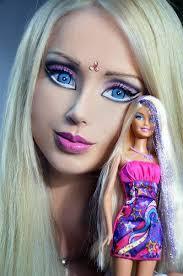 brace human barbie valeria lukyanova posts makeup free