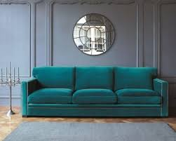 canap velours canap velours bleu 25 best inspiration velvet images on
