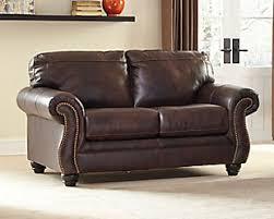 Ashley Furniture Leather Loveseat Loveseats Ashley Furniture Homestore