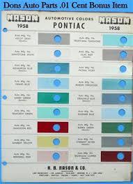 pontiac paint chips
