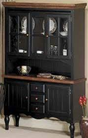 black and cherry buffet foter