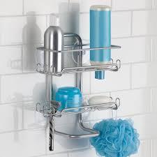 shower organiser mobroi com interdesign classico suction bathroom shower caddy shelves for