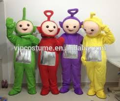 teletubbies mascot costume cosplay fancy party dress halloween