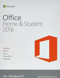 microsoft office home and student 2016 for 1 windows pc voucher