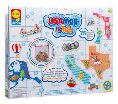 si e bain b alex toys rub a dub usa map in the tub walmart com