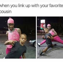 Cousin Meme - when you link up with your favorite cousin meme on me me