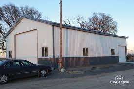 home shop buildings easy assemble diy metal garage or shop miracle truss