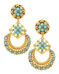 clip on chandelier earrings jose barrera 24k gold plate chandelier clip on earrings