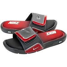 Men S Nike Comfort Slide 2 Nike Comfort Slide 2 Red And Black
