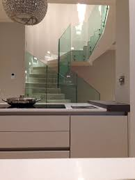 basement conversion in berkshire apartment with open staircase