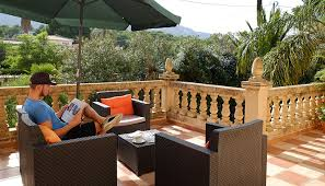 Outdoor Furniture In Spain - guesthouse healthy holiday lets denia in spain