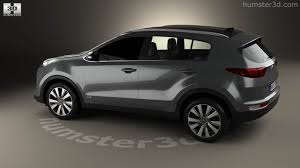 toyota official store 360 view of kia sportage 2016 3d model hum3d store