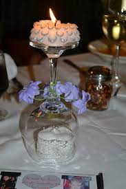 Wine Glass Decorating Ideas Cocktail Glasses Décor Ideas For Wedding Reception Table