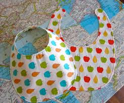 how to sew a baby bib pattern 9 steps with pictures