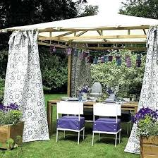 Outdoor Curtains Lowes Designs Outdoor Gazebo Curtains U2013 Teawing Co