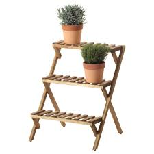Ikea Outdoor Planters by Plant Stand Outdoor Ladder Plant Stand Wood Planter Stands