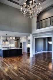 what is open floor plan 2 story great room catwalk open floorplan great room chandelier