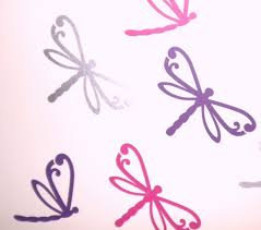28 dragonfly wall stickers dragonfly vinyl wall decal set dragonfly wall stickers set of 12 mixed dragonfly wall stickers removable ebay