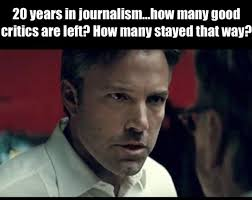 Film Major Meme - what are some reasons that you can think why justice league will