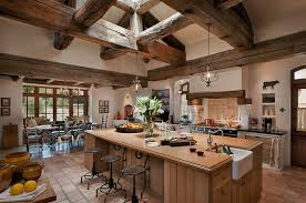 Rustic Kitchen Islands With Seating Kitchen Design Simple Rustic Kitchen Design With Marble