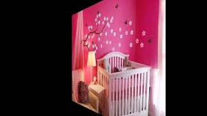 cute wallpaper decor ideas for baby girls room youtube