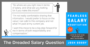 how to answer the u201cwhat u0027s your current or expected salary u201d question
